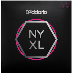 D'addaro NYXL0942 9-42 Nickel Wound Strings