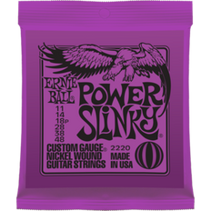 Ernie Ball 2220 Power Slinky Electric Guitar Strings 11-48