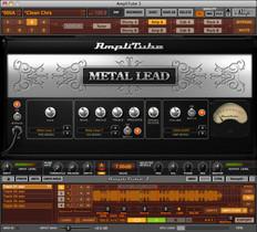 IK Multimedia Amplitube Metal Guitar Effects Software Suite