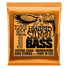 Ernie Ball 2833 Hybrid Slinky Nickel Wound Bass Guitar Strings