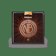 D'addario NB1256 Nickel Bronze Acoustic Guitar Strings