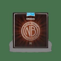 D'addario NB1253 Nickel Bronze Acoustic Guitar Strings