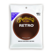 Martin MM11 Retro Acoustic Guitar Strings 11-52