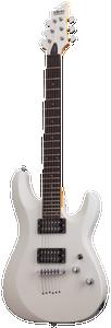 Schecter 432 C-6 Deluxe Electric Guitar Satin White