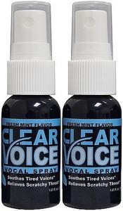 Clear Voice Fresh Mint 2 Bottle Special