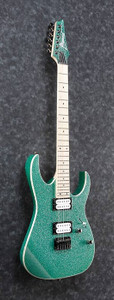 Ibanez RG421MSPTSP Electric Guitar *Turquoise Sparkle*