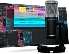 PreSonus REVELATOR  USB Microphone with StudioLive Voice Processing inside