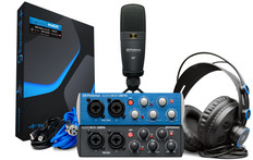 Presonus Audiobox Usb 96 Studio Bundle 25th Anniversary Edition (Black Audiobox)