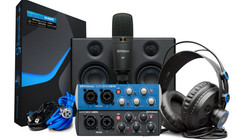 Presonus Audiobox Usb 96 Studio Ultimate Bundle 25th Anniversary Edition (Black Audiobox)