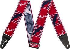 """Fender Weighless™ 2"""" Mono Strap, Red/White/Blue 0990686009"""