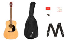 Fender FA-115 0971210721 Acoustic Guitar Package Natural Finish