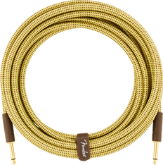 Fender Deluxe Series Instrument Cable, Straight/Straight, 10', Tweed 099-0820-089