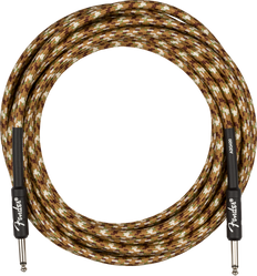 Fender Professional Series Instrument Cable, Straight/Straight, 18.6', Desert Camo 099-0818-107