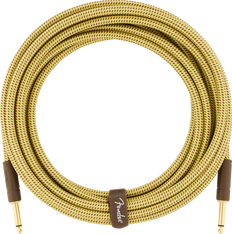Fender Deluxe Series Instrument Cable, Straight/Straight, 18.6', Tweed 099-0820-081