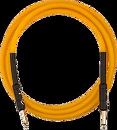Fender 0990810113 Professional Glow in the Dark Cable, Orange, 10'