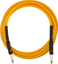 Fender 0990818113 Professional Glow in the Dark Cable, Orange, 18.6'