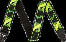 Fender Neon Monogram Strap 0990681307