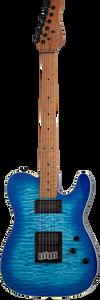 Schecter 864 PT Pro Trans Blue Burst