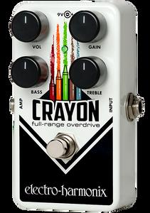 Electro-Harmonix Crayon 69 Full-range Overdrive Pedal