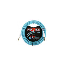 """Pig Hog """"Daphne Blue"""" Instrument Cable, 20ft"""