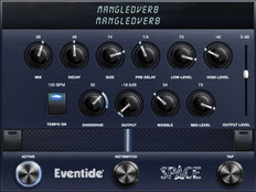Eventide MangledVerb Reverb with Distortion Plug In