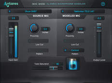 Antares Mic Mod EFX Microphone Modeling Software Plug In