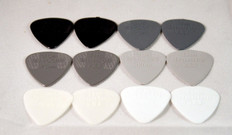 Dunlop Nylon Variety Pick Pack 12 Picks Total