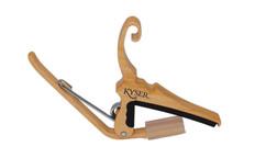 Kyser KG6 Maple Capo for Acoustic Guitar