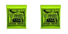 Ernie Ball 2836 Regular Slinky Nickel Wound 5 String Bass Guitar Strings 2 Sets