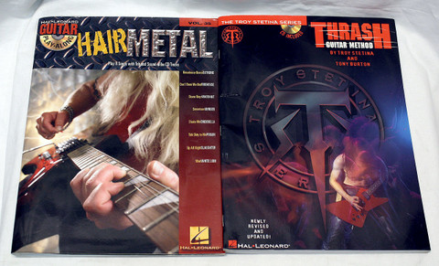 Metal Guitar Instructional Book Bundle