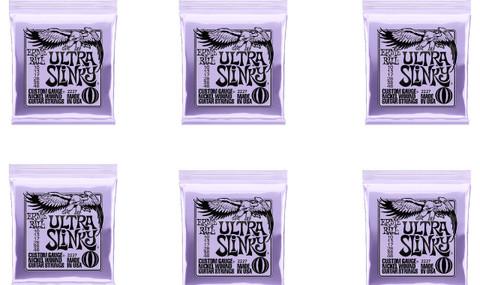 Ernie Ball 2227 Ultra Slinky 6 Pack Special
