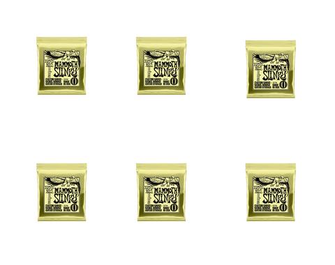 Ernie Ball 2214 Mammoth Slinky 6 Pack Special