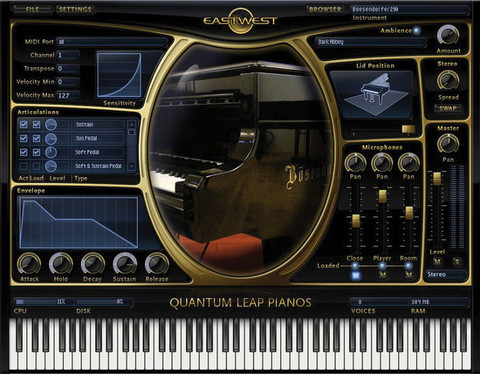 EastWest Steinway D Gold eDelivery