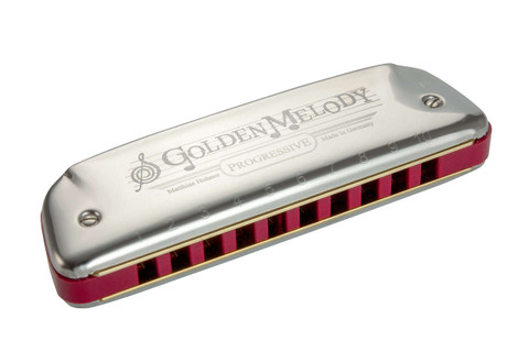 Hohner Golden Melody Harmonica Key of D