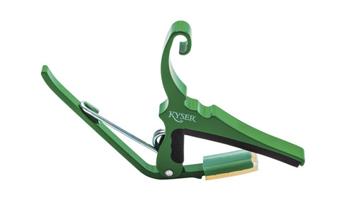 Kyser KG6 Capo for Acoustic Guitar Emerald Green