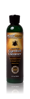 Music Nomad Cymbal Cleaner - Acid Free Cleaner, Polisher, Protectant for Brilliant Finishes MN111