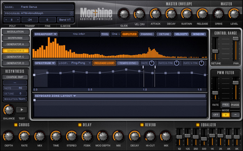 Image Line Morphine Powerful Additive Synthesizer