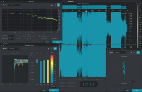 2nd Sense ReSample A tool designed to edit & analyze audio