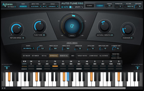 Antares Auto-Tune Pro Pitch Correction Software