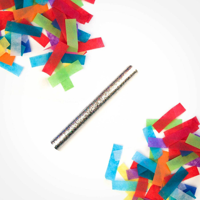 Confetti Flick Sticks 6 inches Multicolor