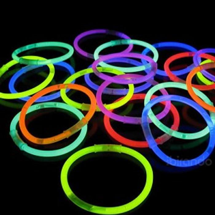 Glow Stick Bracelets - Pack of 100
