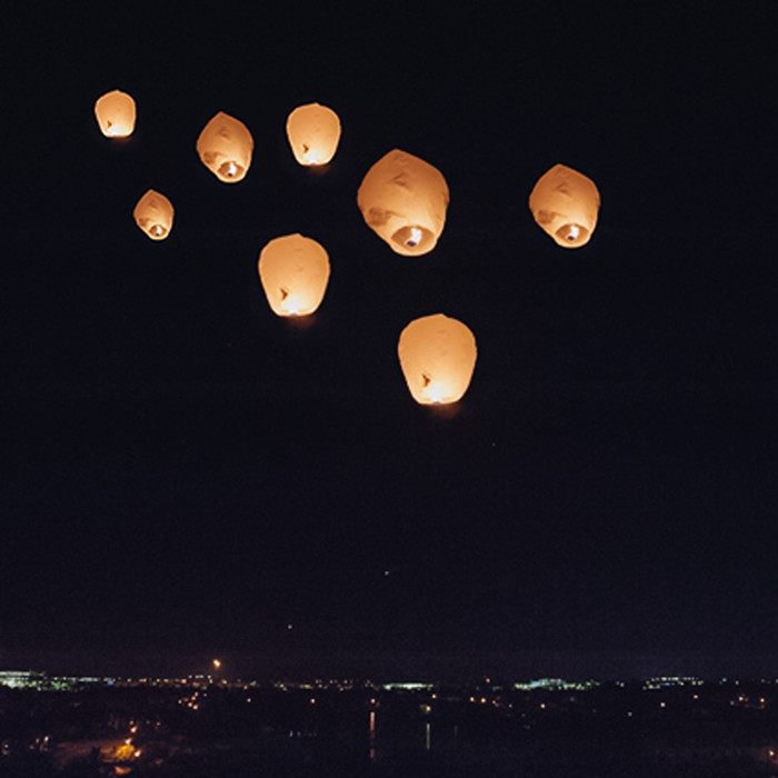 Sky Lantern - Pack of Six