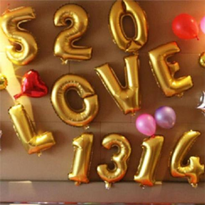 Jumbo Ballon Numbers