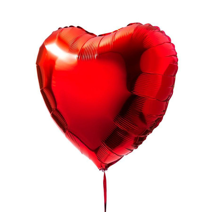 red heart 30 inch giant balloon