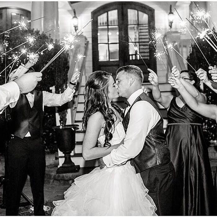 wedding sparklers 20 inch