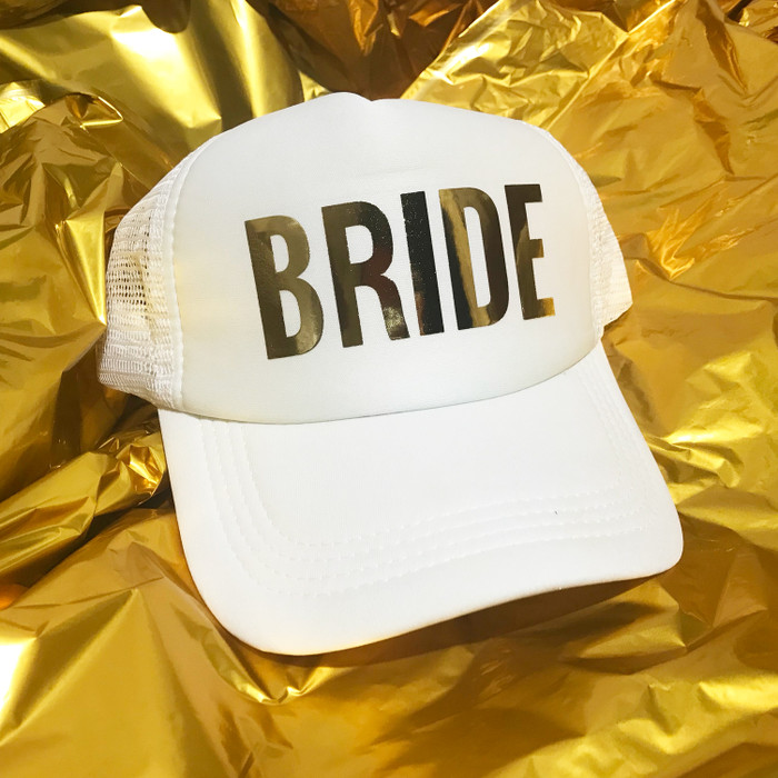 Bride+Squad Hats (Pack of 6)