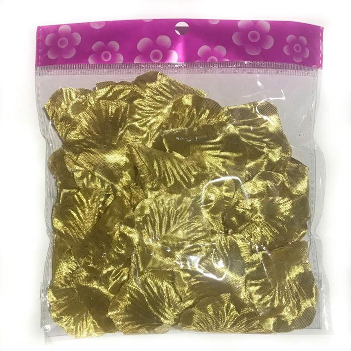 Gold Silk Rose Petals (100 Piece)
