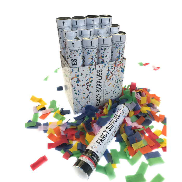 "12"" Confetti Cannon - Multi-Color"