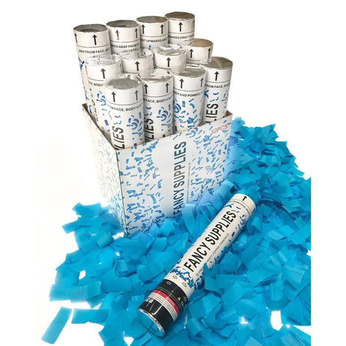 """12"""" Confetti Cannon - Blue"""