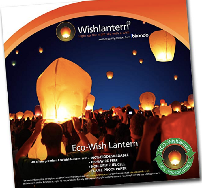 American Stars and Stripes Eco 5 Pack - The Original Sky Lanterns